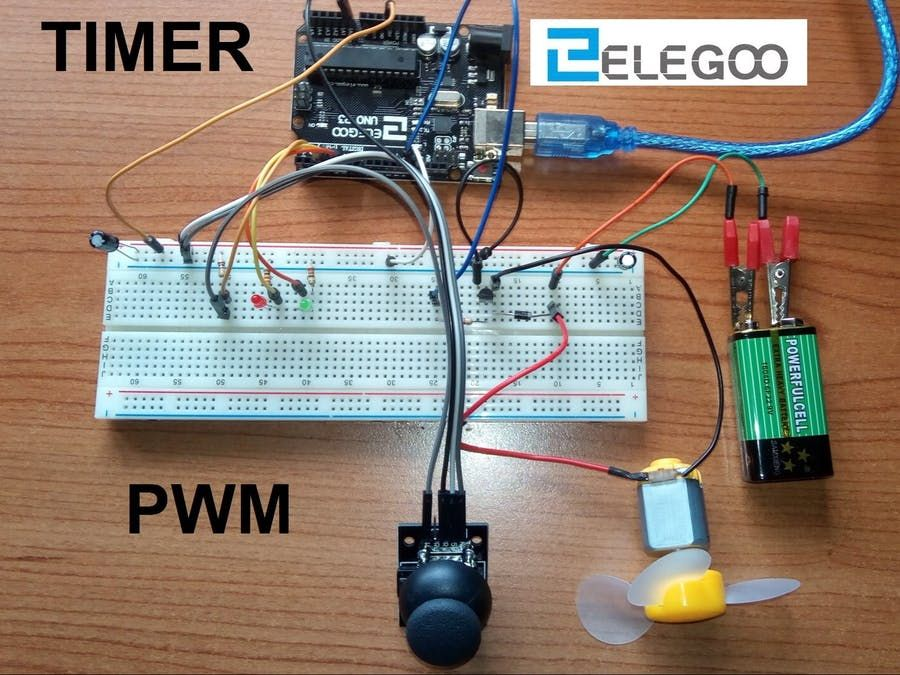 How To Build Simple Dc Motor Pwm Speed Control