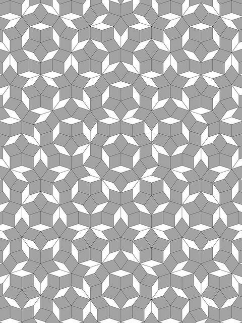 Penrose star tiling: 60