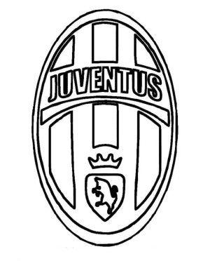 Juventus Logo Soccer Coloring Pages sport Pinterest Juventus
