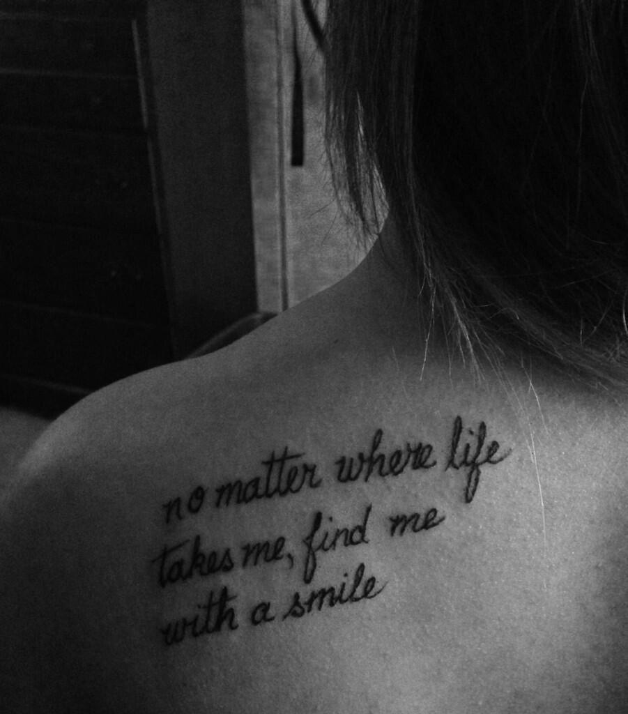 Tattoo Quotes Lyrics: Mac Miller Tattoos, Lyric
