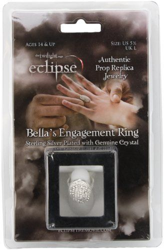 Twilight Eclipse Bellas Engagement Ring Prop ReplicaAmazonToys