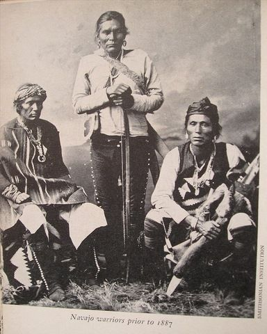 Navajo warriors pror to 1887, bunky's pickle on Flickr
