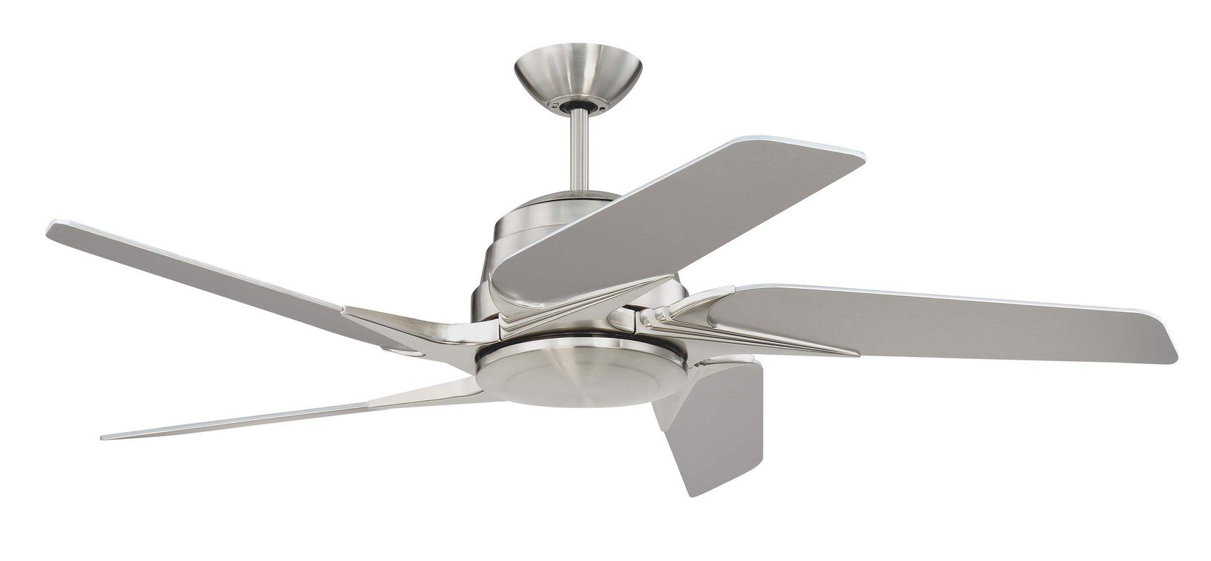 54 Fairman 5 Blade Ceiling Fan With Remote Light Kit Included With Images Ceiling Fan Modern Ceiling Fan Ceiling Fan With Remote