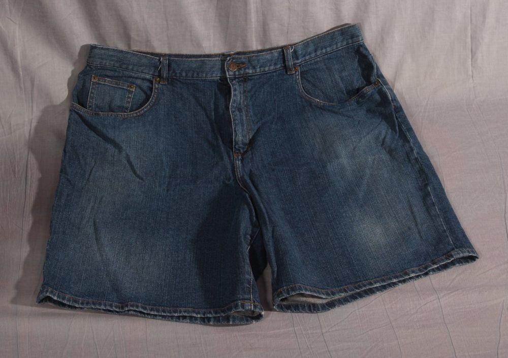 Women's Shorts Lauren Jeans Co Blue Plus Size 16W Cotton Blend Denim #LaurenRalphLauren #Denim