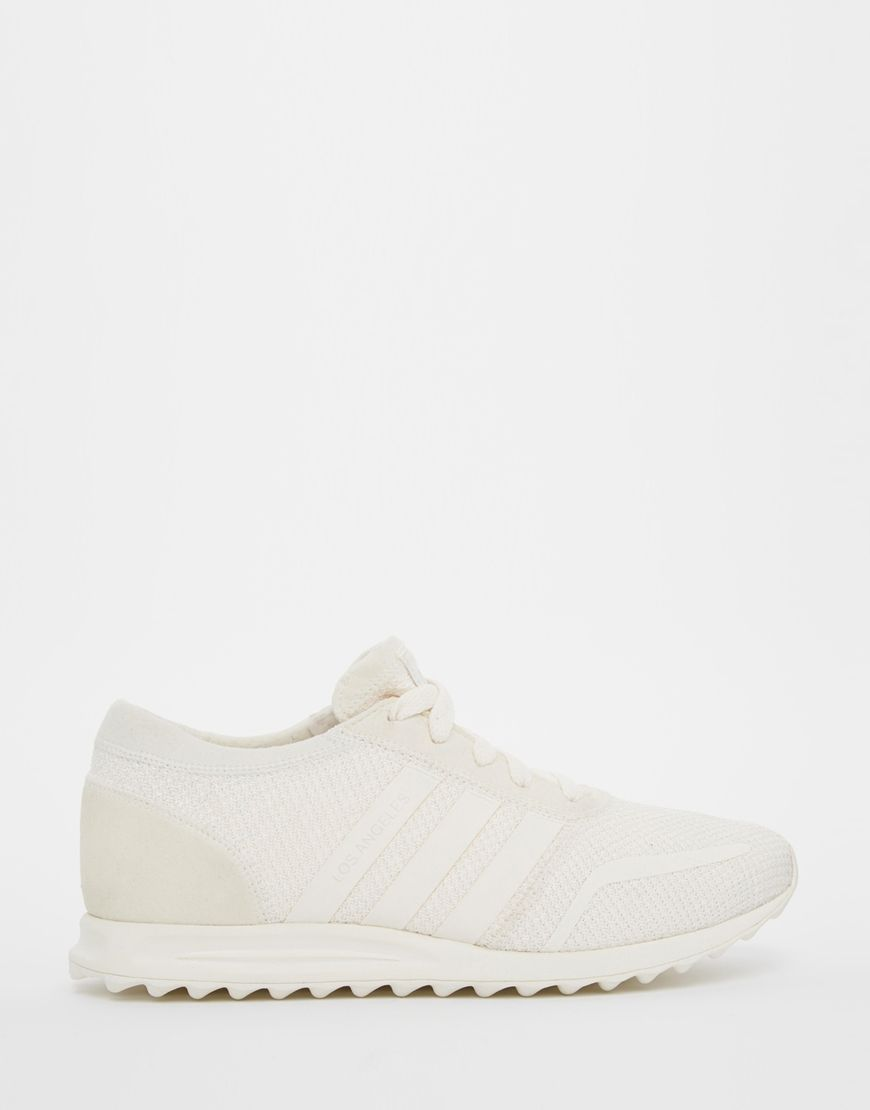 Adidas Los Angeles White Leather