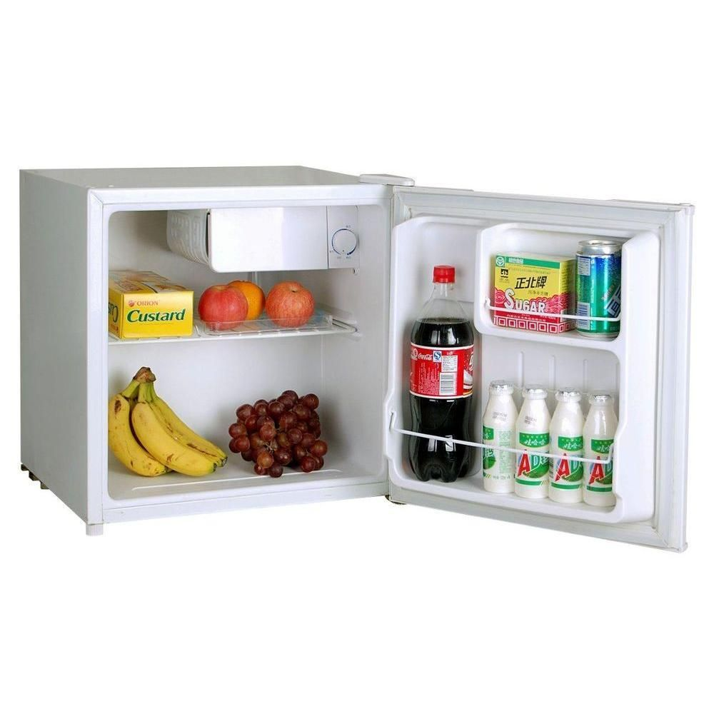 details about small mini compact white table top office fridge ice rh pinterest com