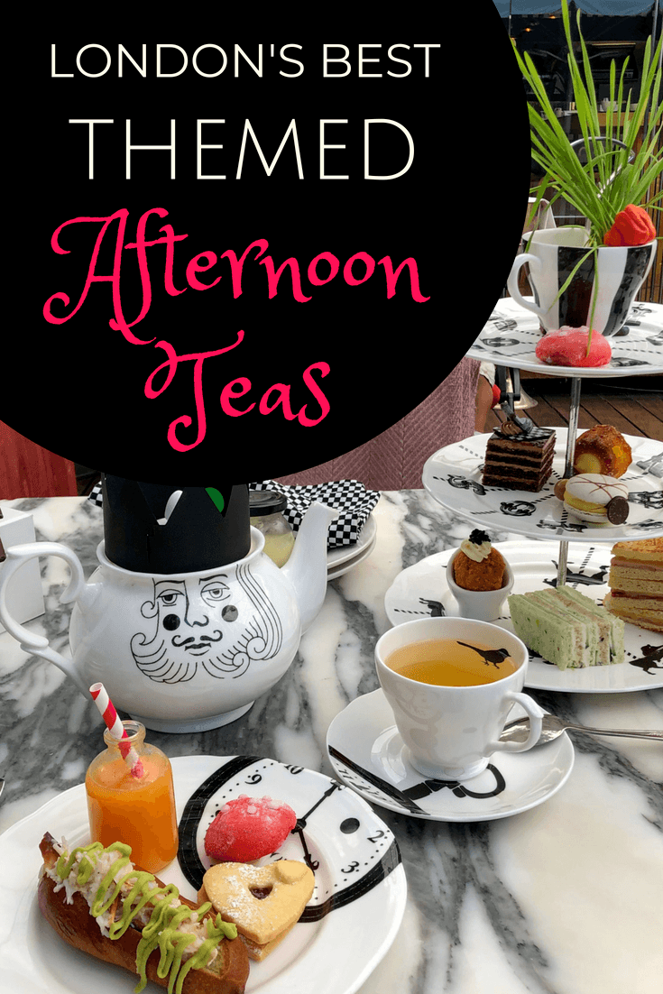 Photo of A Guide to the Most Unique Themed Afternoon Teas in London