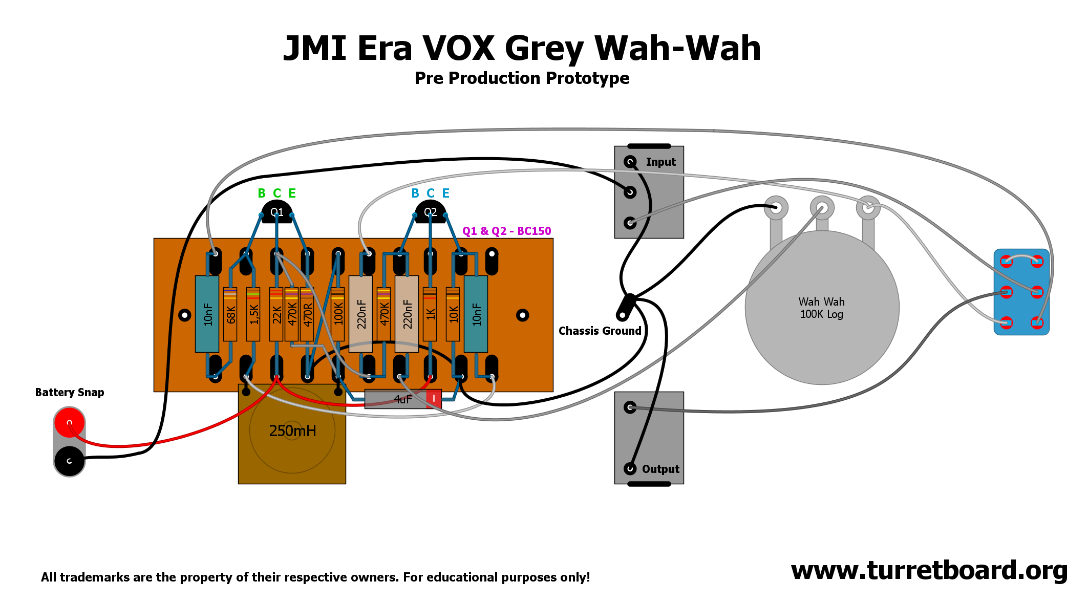 Vox Guitar Pedal Wiring Diagram Schecter Diamond Series Grey Wah Proto Caricaturas Pinterest Music And