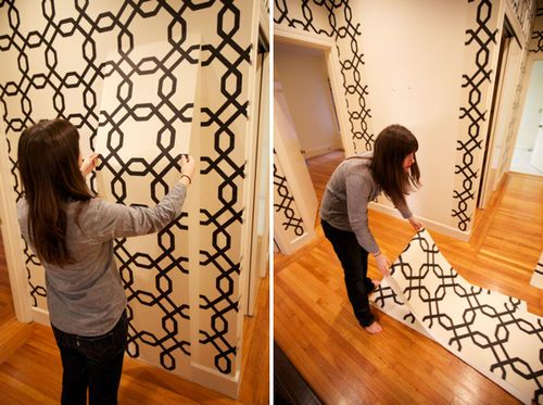 Removable Wallpaper! (via Oh Happy Day) | For the Home | Pinterest ...