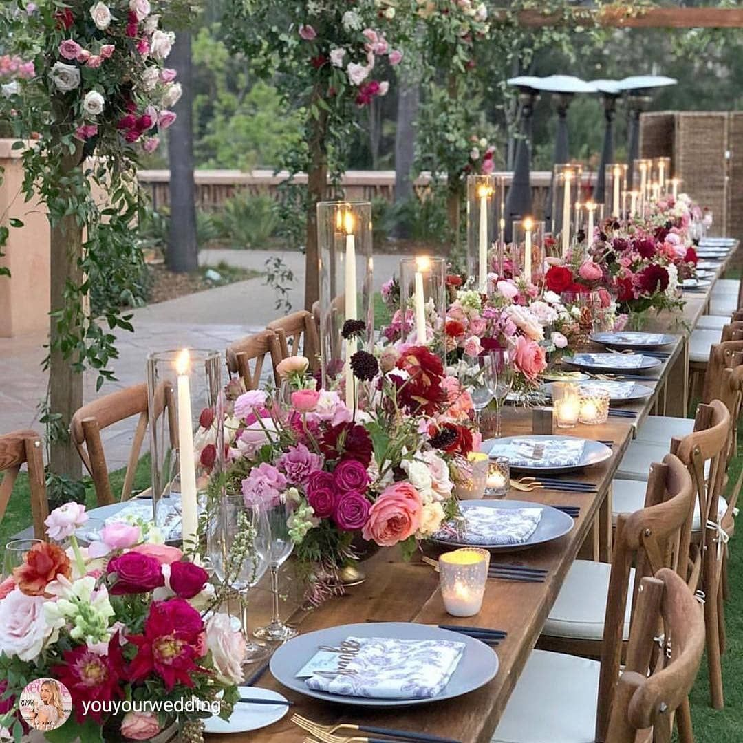 Spring Wedding Reception Ideas: These Colors Are So Beautiful For A Spring Wedding