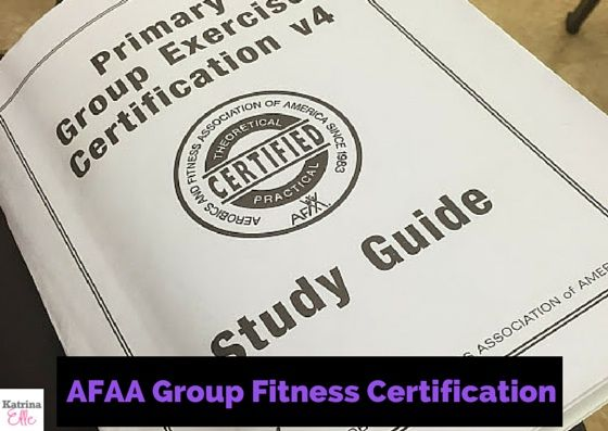 AFAA Group fitness certification review | Personal Training Tips ...