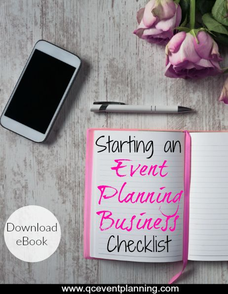 Starting An Event Planning Business Our Ebook Has Your Checklist