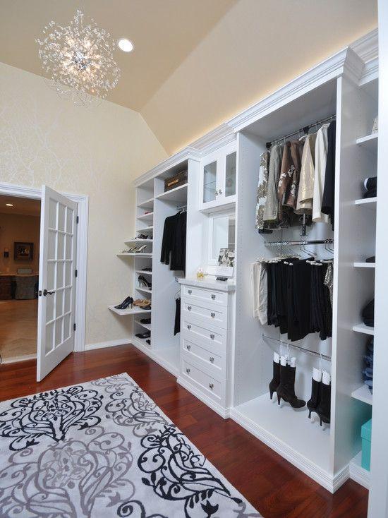Closet by affordable closets plus llc http www houzz com photos 1837883 white dressing room contemporary closet newark