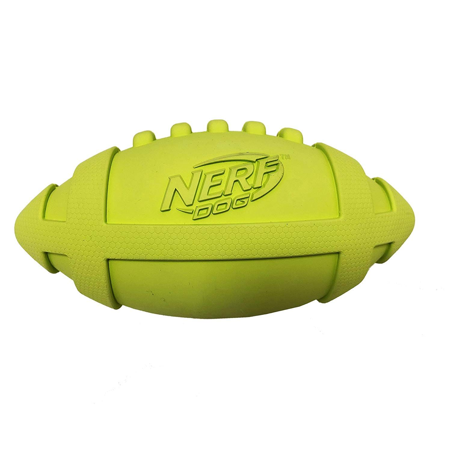 Nerf Dog Rubber Squeak Football Check Out This Great Product