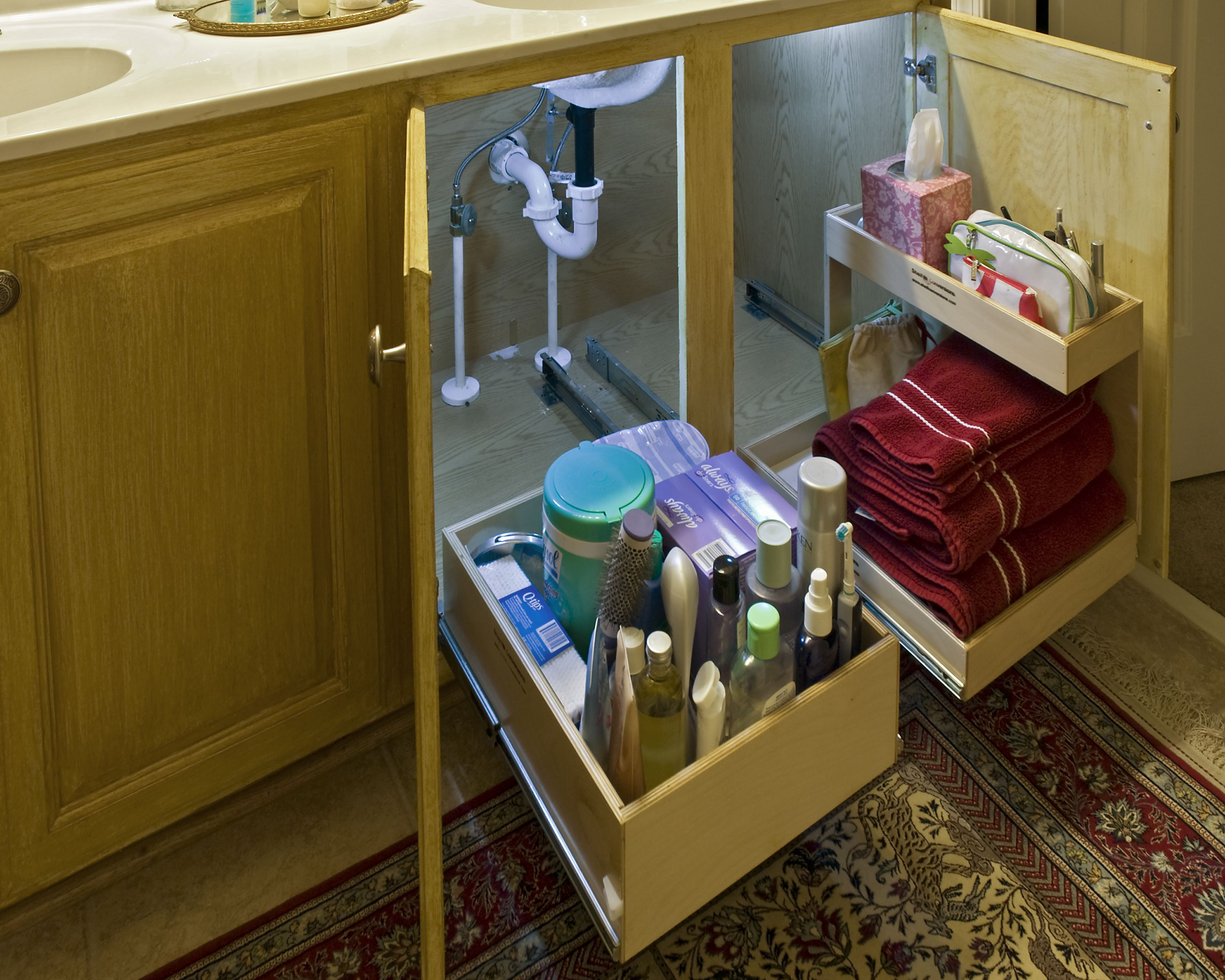 Bathroom cabinet storage solutions - 17 Best Images About Bathroom Organization On Pinterest Under Bathroom Sink Storage Cabinets And Bathroom Vanity Storage