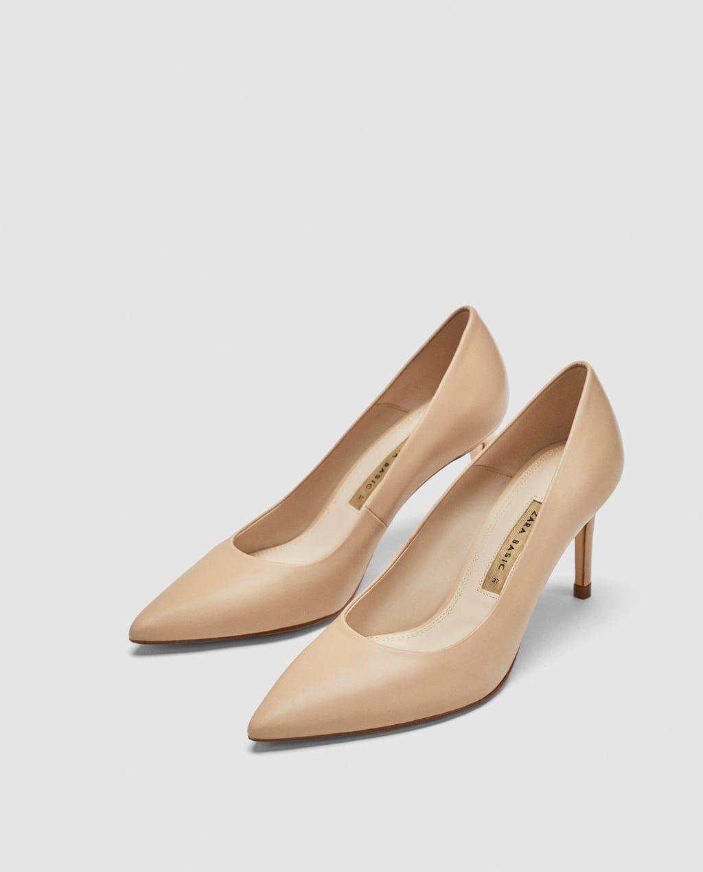 f1a4c7a0 SALÓN TACÓN PIEL en 2019   Calzado   Tacones, Zapatos y Zara
