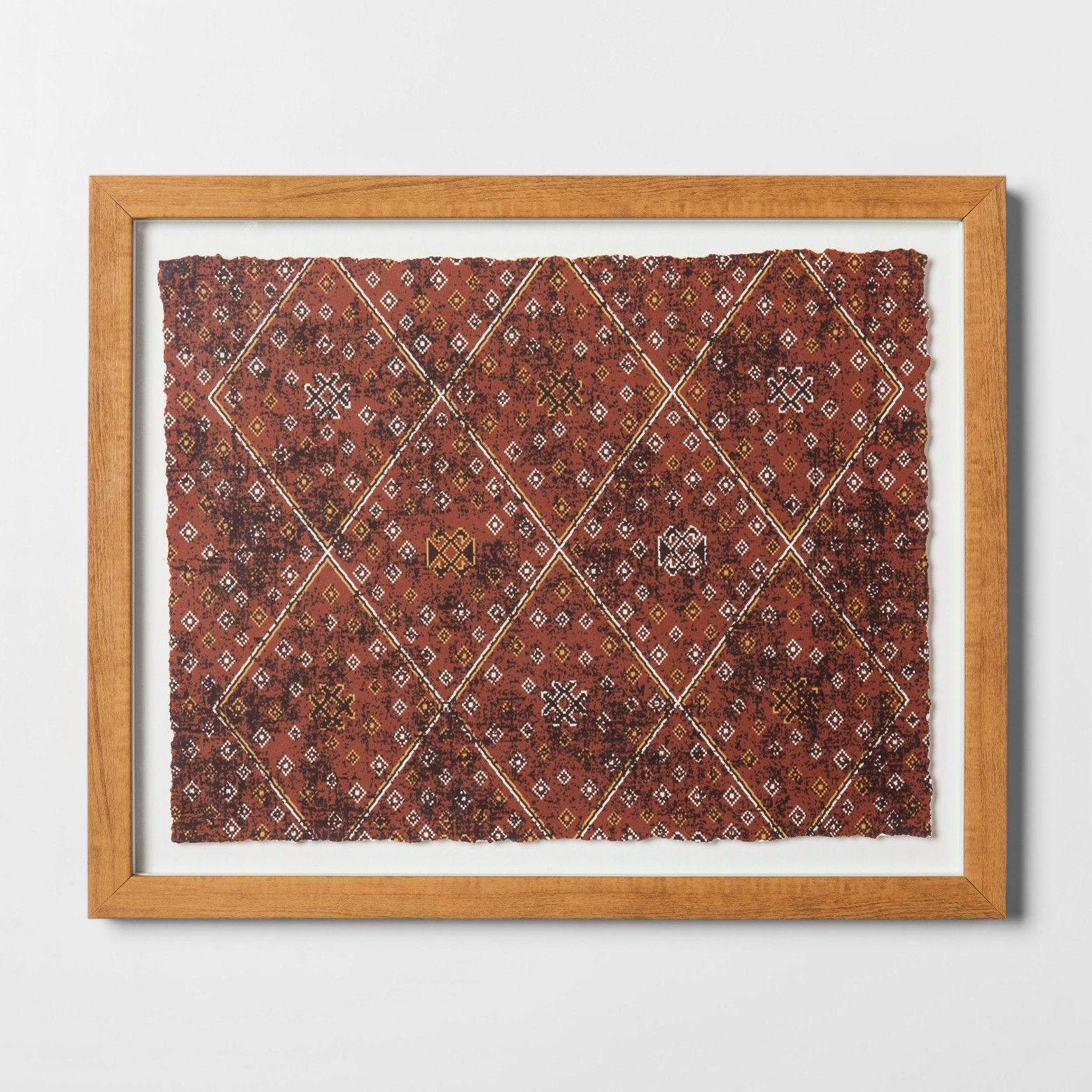 Abstract Framed Wall Art Large - Red - Threshold™ | Abstract wall ...