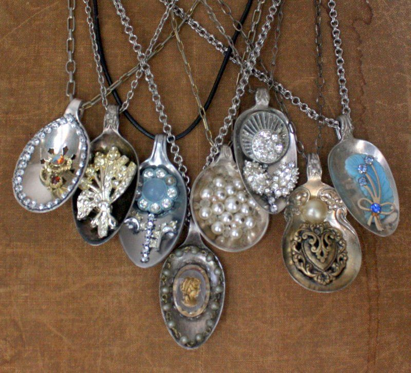 Make beautiful pendants from old silver spoons how to from make beautiful pendants from old silver spoons how to from mitzis miscellany mozeypictures Image collections