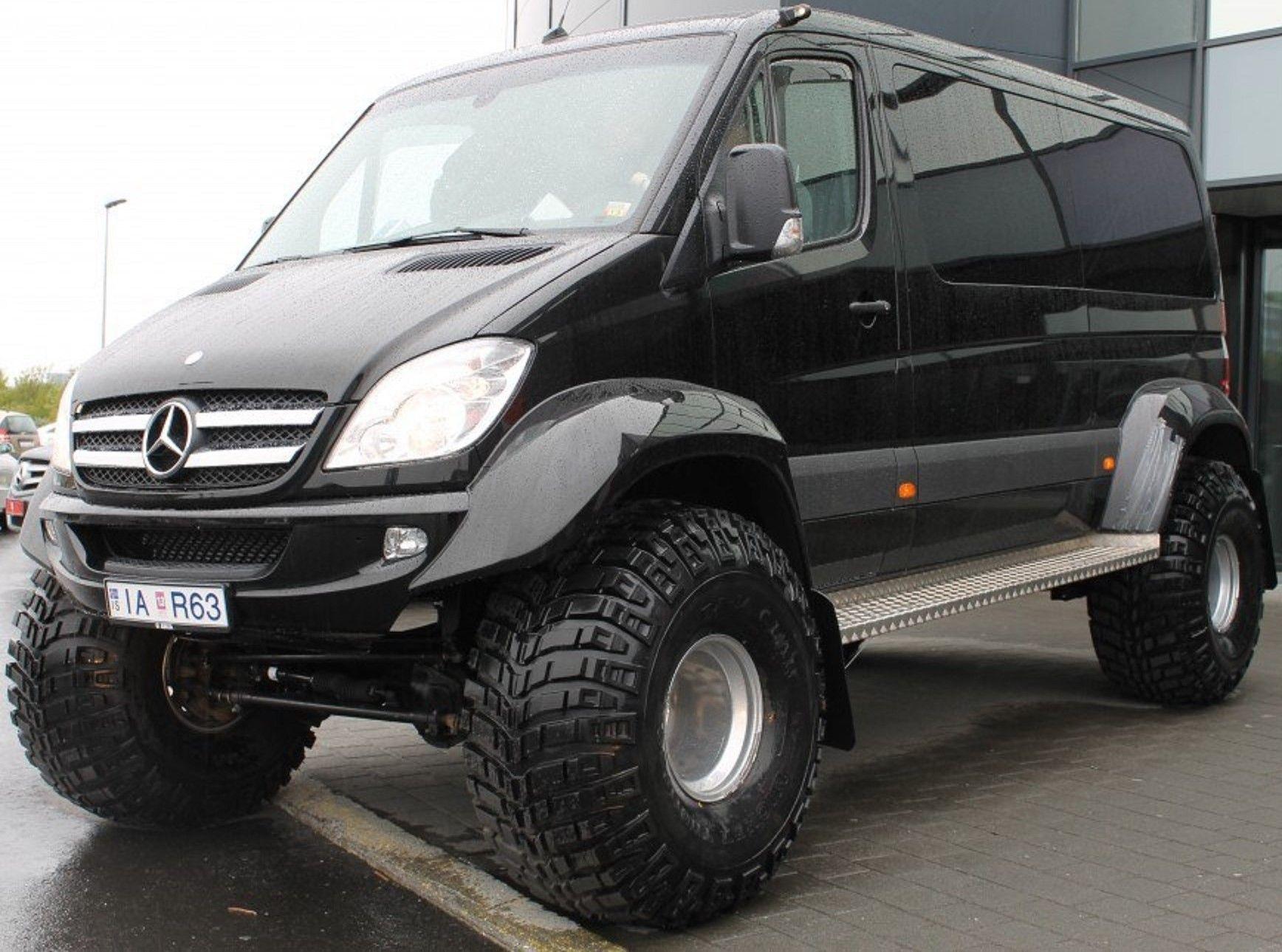 MercedesBenz OffRoad 4x4 Icelandic Sprinter. http