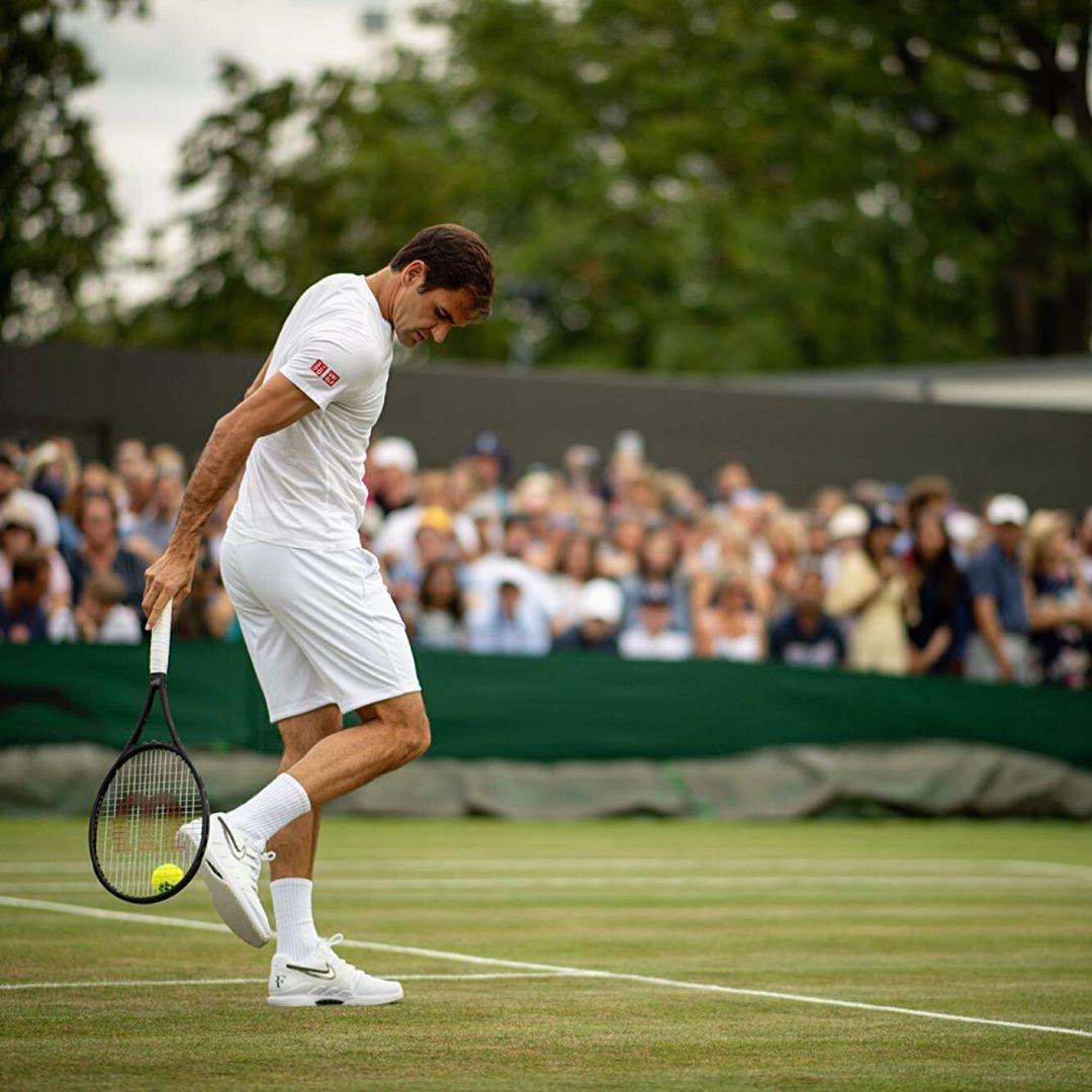 Wimbledon On Instagram Practice Makes Perfect Joelmarklund Wimbledon Tennis Federer Nishikori