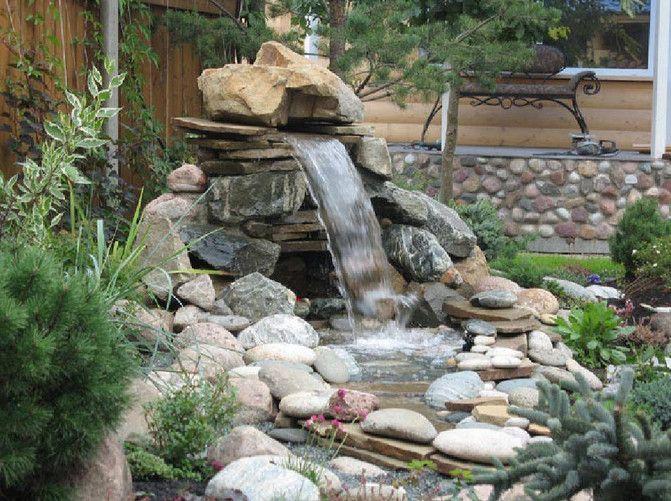 Ordinaire Backyard · Small Yard Ponds And Waterfalls