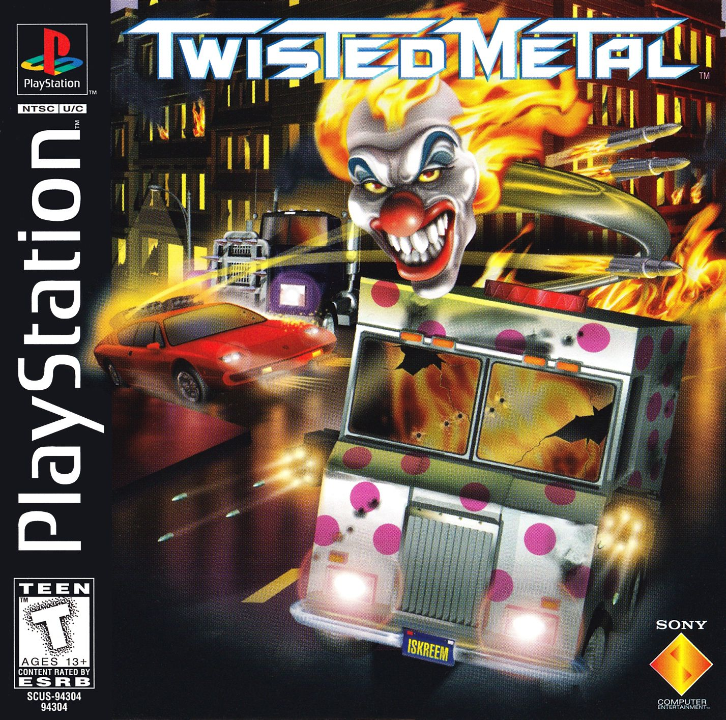 Twisted Metal Classic Video Games Twisted Metal Playstation Games