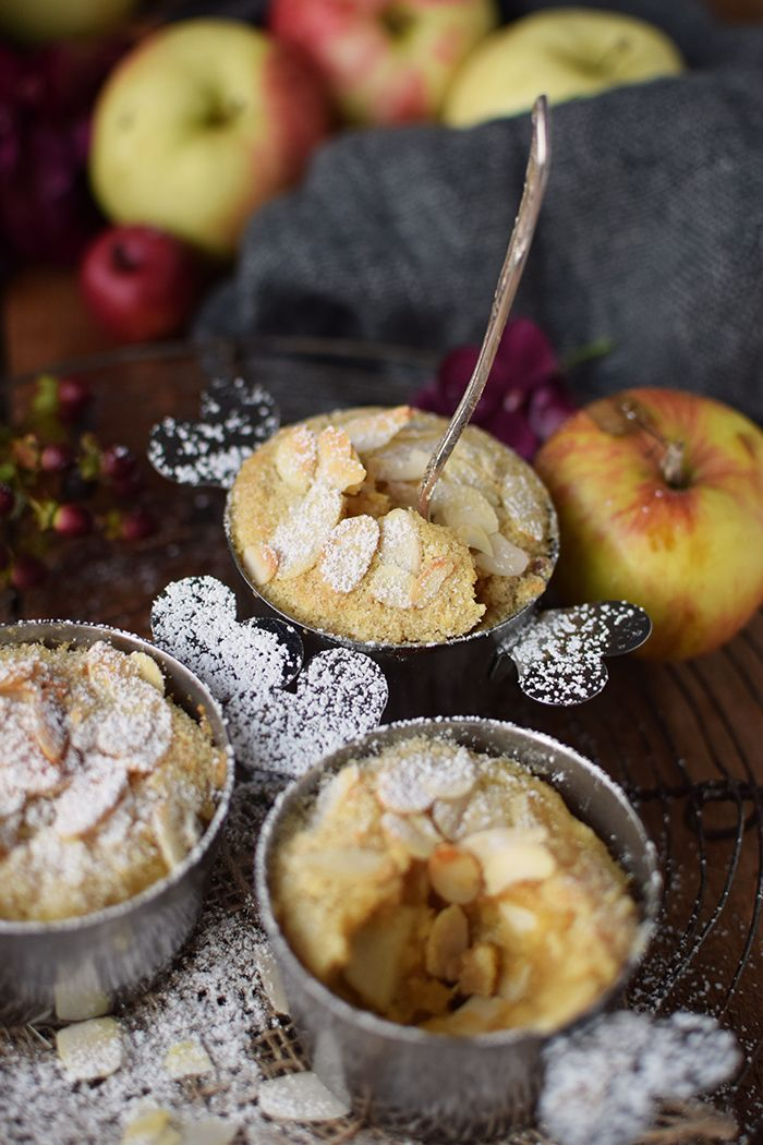 Photo of Apple and almond bake: Heaven nibbles warm den K …