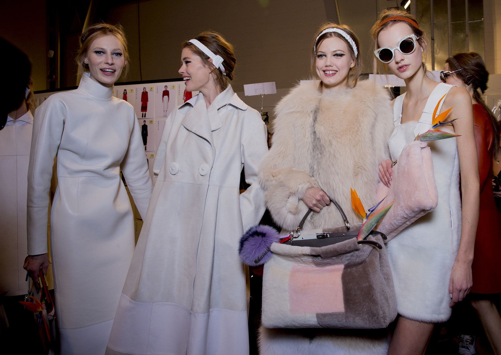 Fendi Fall 2015 RTW Backstage – Vogue