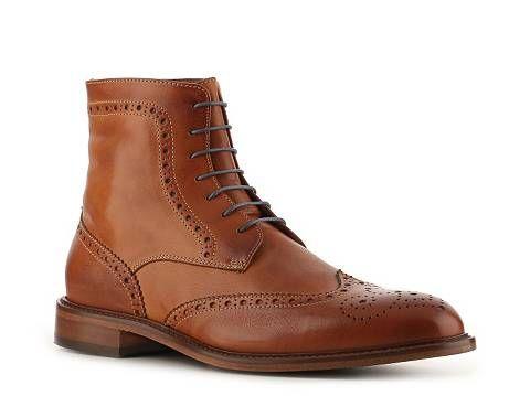 78f5950a7ee90 Mercanti Fiorentini Vintage Wingtip Boot | DSW Cognac $130 ...