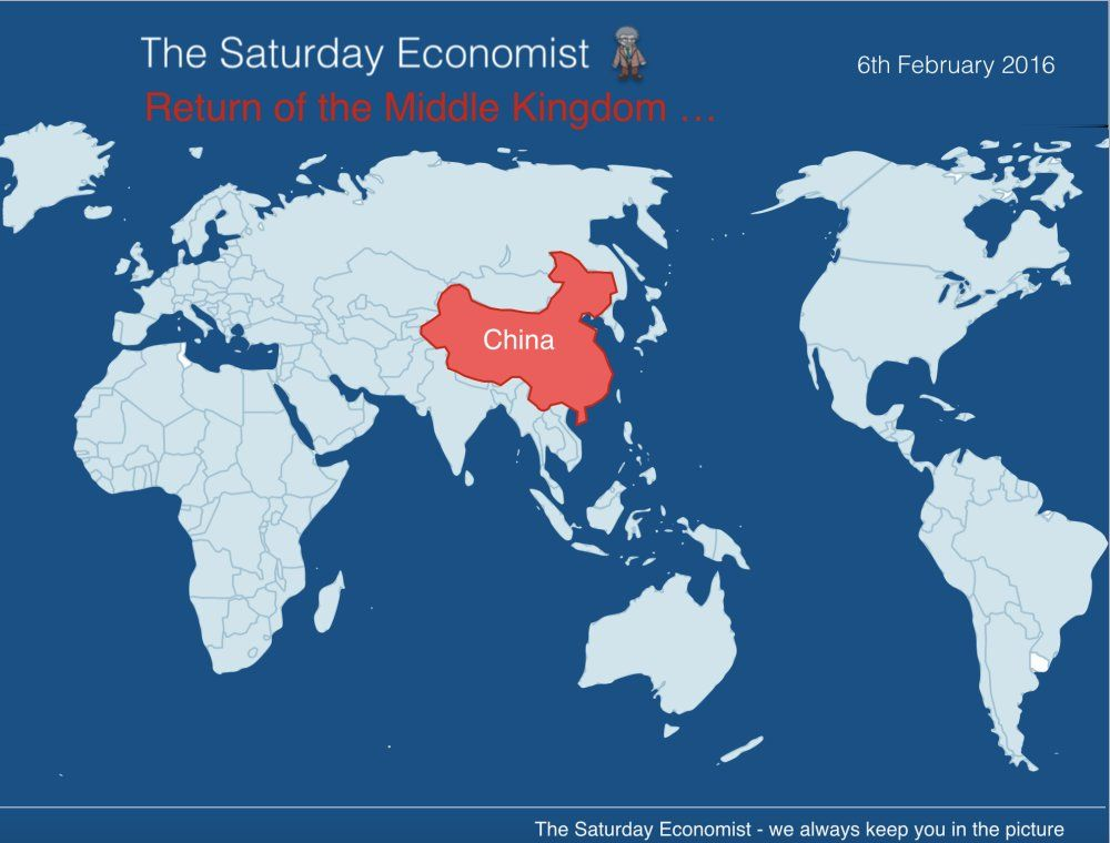 Saturday Economist Return Of The Middle Kingdom China
