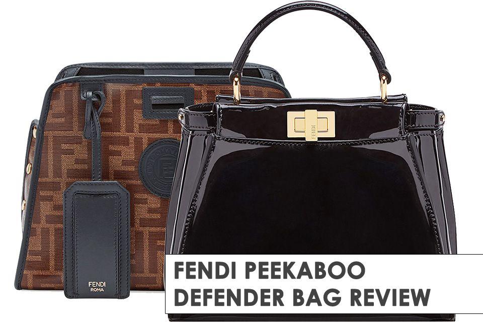 The Fendi Peekaboo Defender Bag Comes With A Signature Cover e8f28b90c4be4