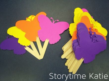 use these with the flutter flutter butterfly rhyme song make rh pinterest com
