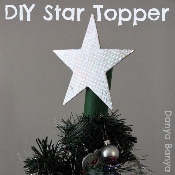 Star Christmas Tree Topper Tree toppers, Christmas tree and Holidays
