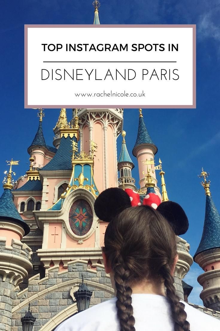 Map Of Paris And Attractions%0A The Top Instagram Spots in Disneyland Paris  Where are the most  Instagrammable places in the
