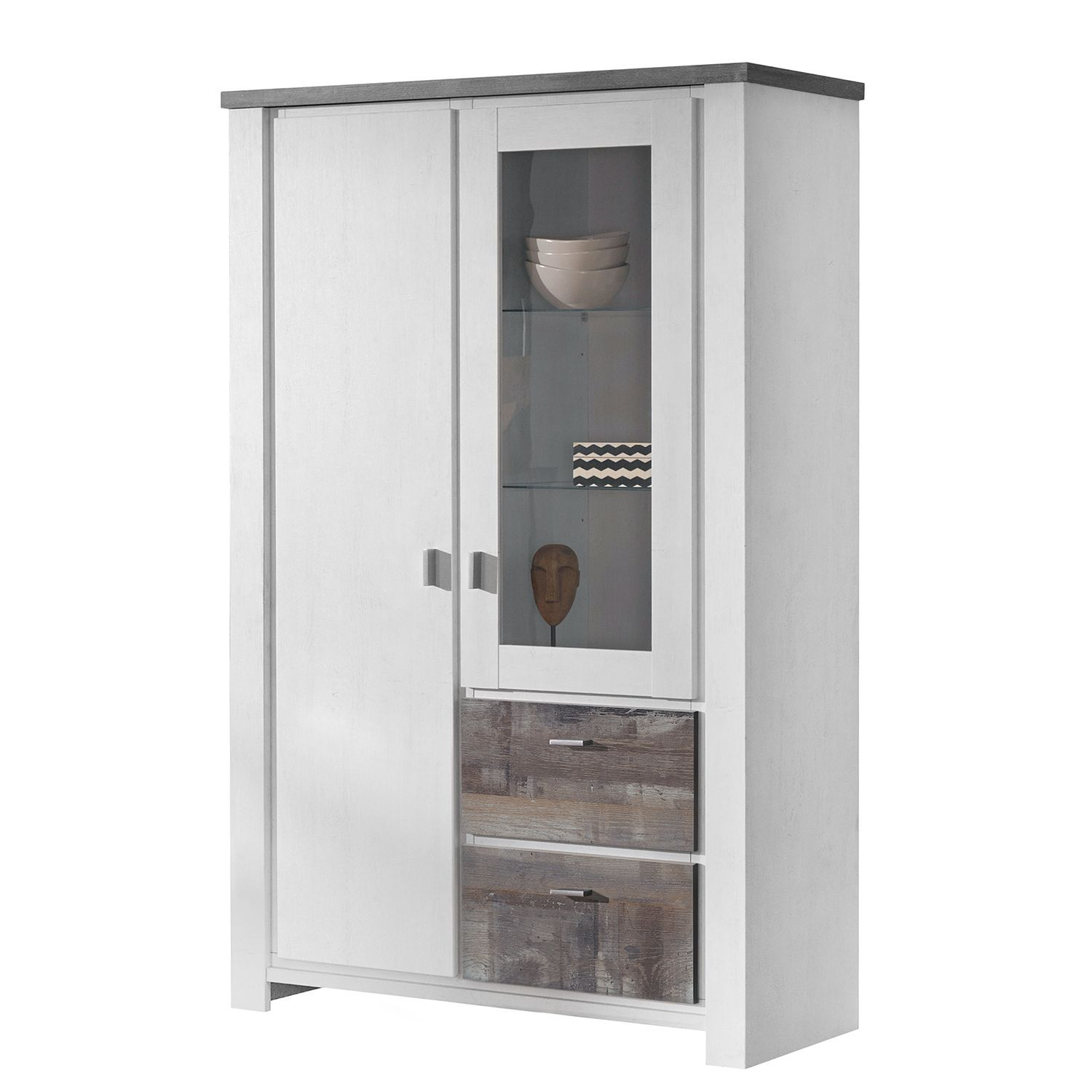Chiffonier Pas Cher Chiffonnier Gris Metal Commode 4 Tiroirs Design Petite Commode