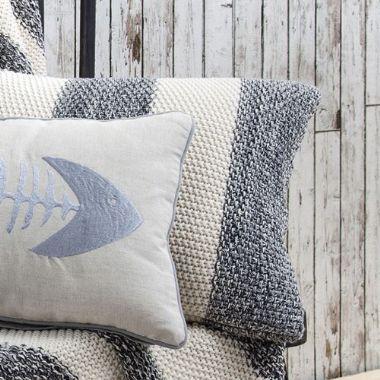 coastal stripe grey white cushion 36 brandinteriors co uk rh pinterest co uk