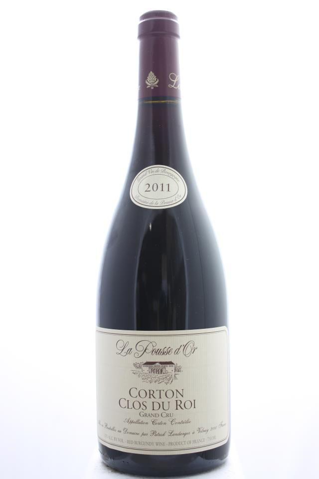 Domaine De La Pousse DOr Clos Du Roi 2011 France Burgundy Aloxe Corton Grand Cru 12 Bottles 075l Estimate 11 2016 550 USD 1133 CZK Bottle
