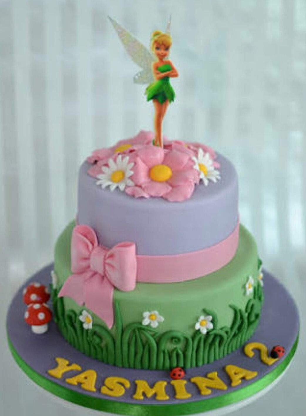 Pin by Elizabet Mozo on Tinkerbell cake Pinterest Tinkerbell