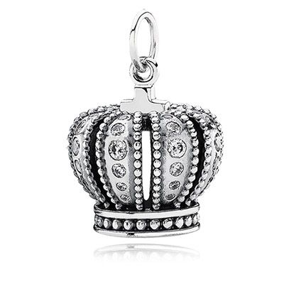 charms pandora couronne