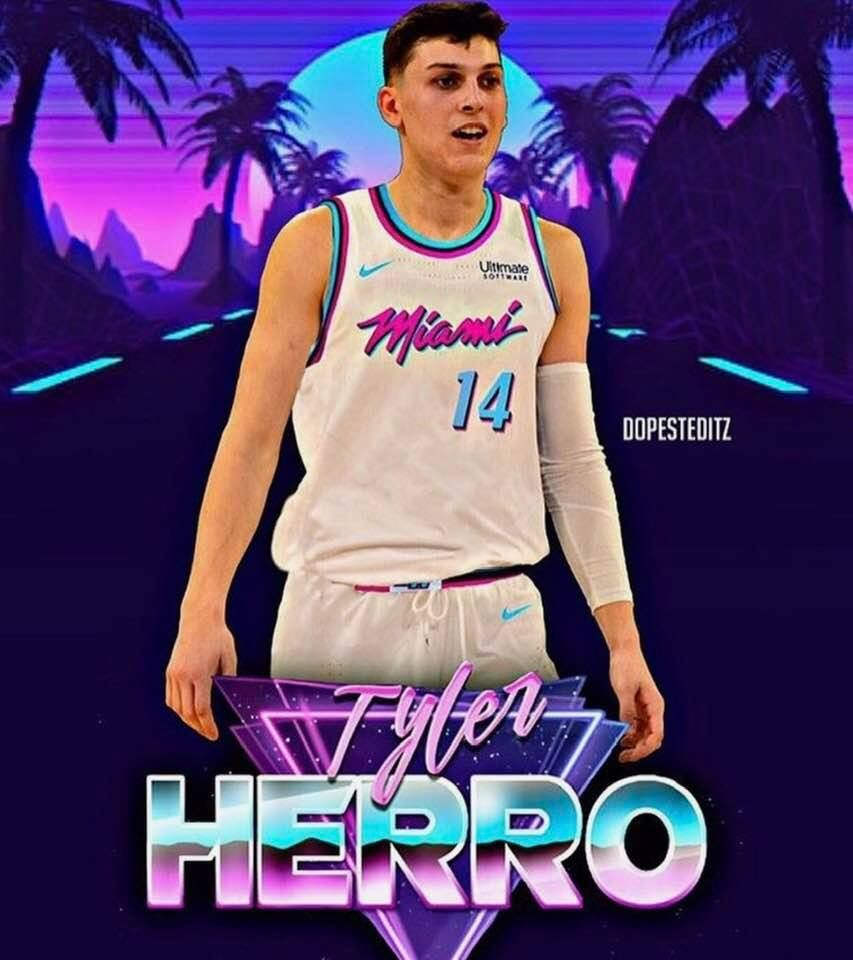 Tyler Herro Nba Heat Basketball Players Nba Mvp Basketball