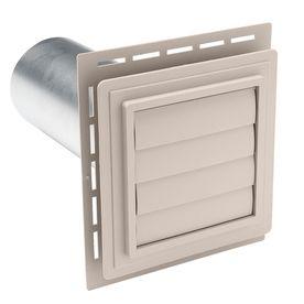 Durabuilt 4 In Dia Plastic R2 Exhaust Dryer Vent Hood Exvent E8 Dryer Vent Vent Hood Exhaust Vent
