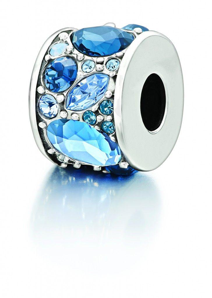 e9a91876f968f Blue Mosaic Bead featuring Swarovski crystals, from Chamilia, $75 ...