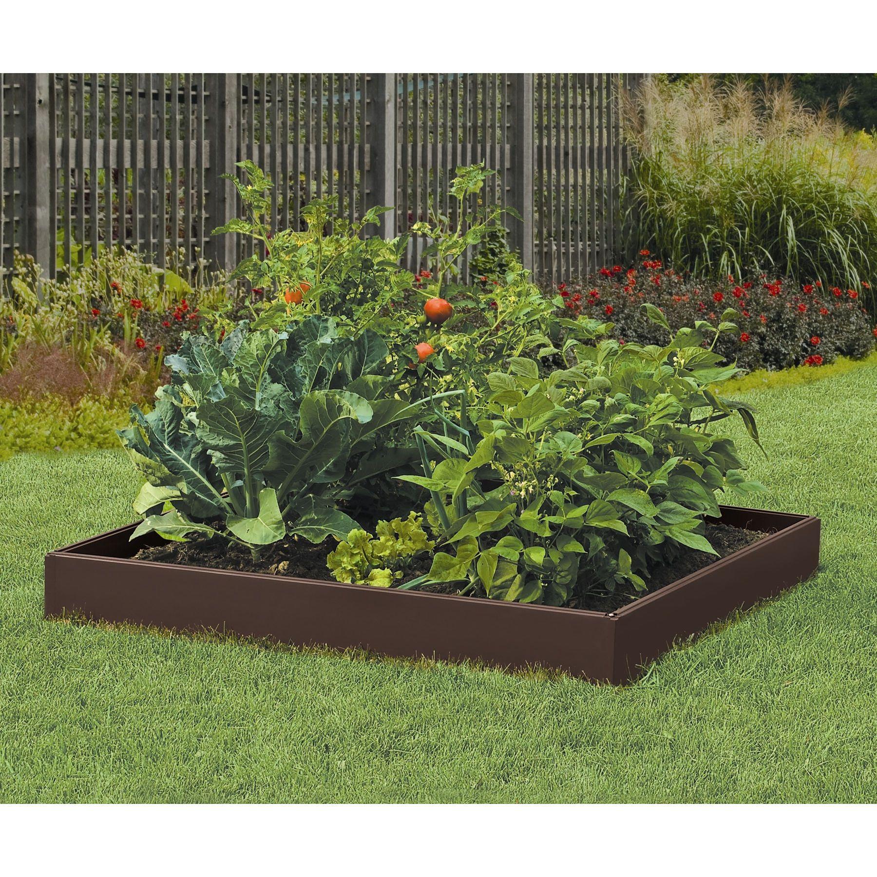Resin Raised Garden Raised garden kits, Raised garden