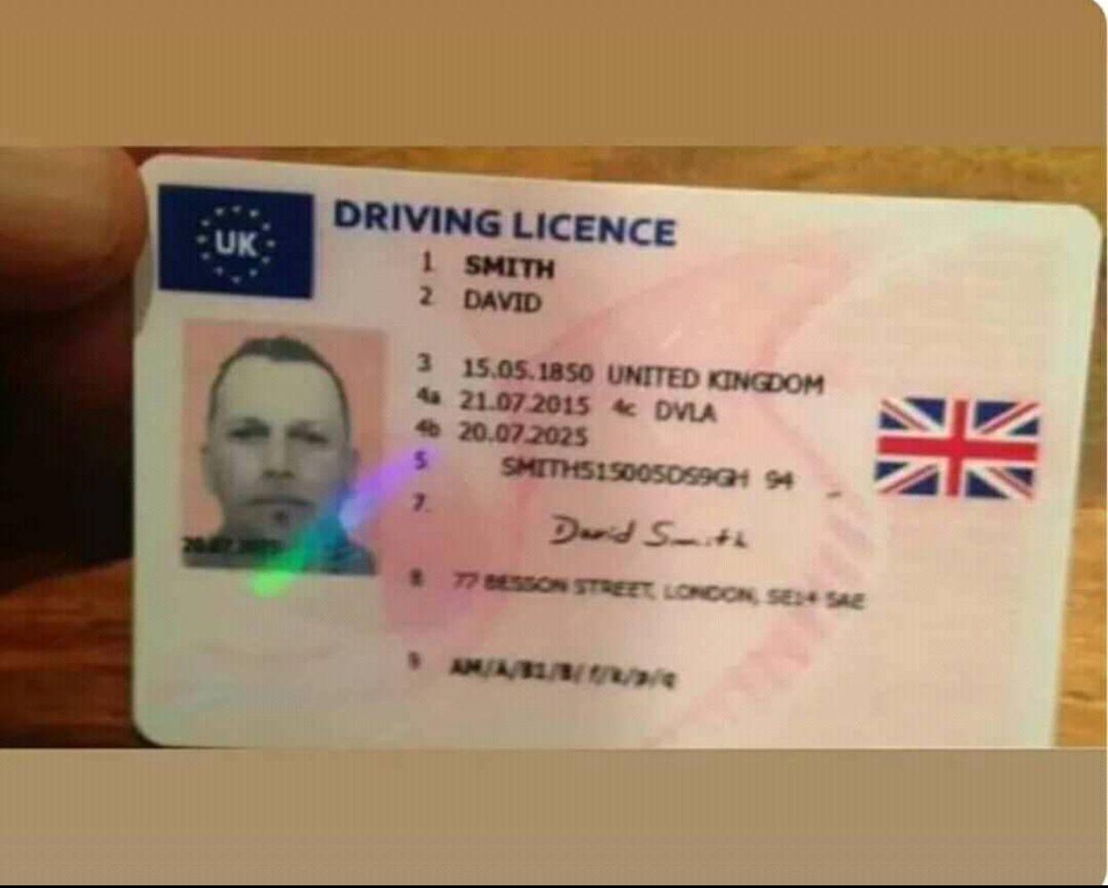 Buy real and fake uk drivers license online. We take