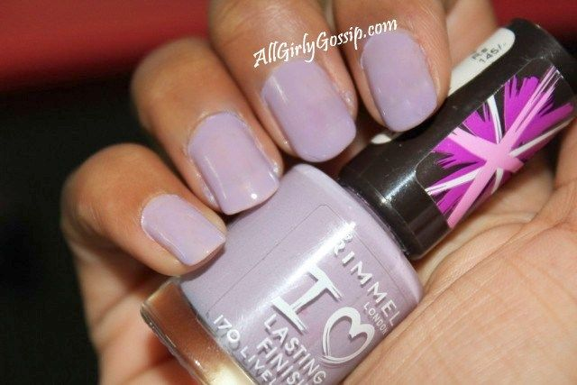 Rimmel I Love Lasting Finish Nail Polish