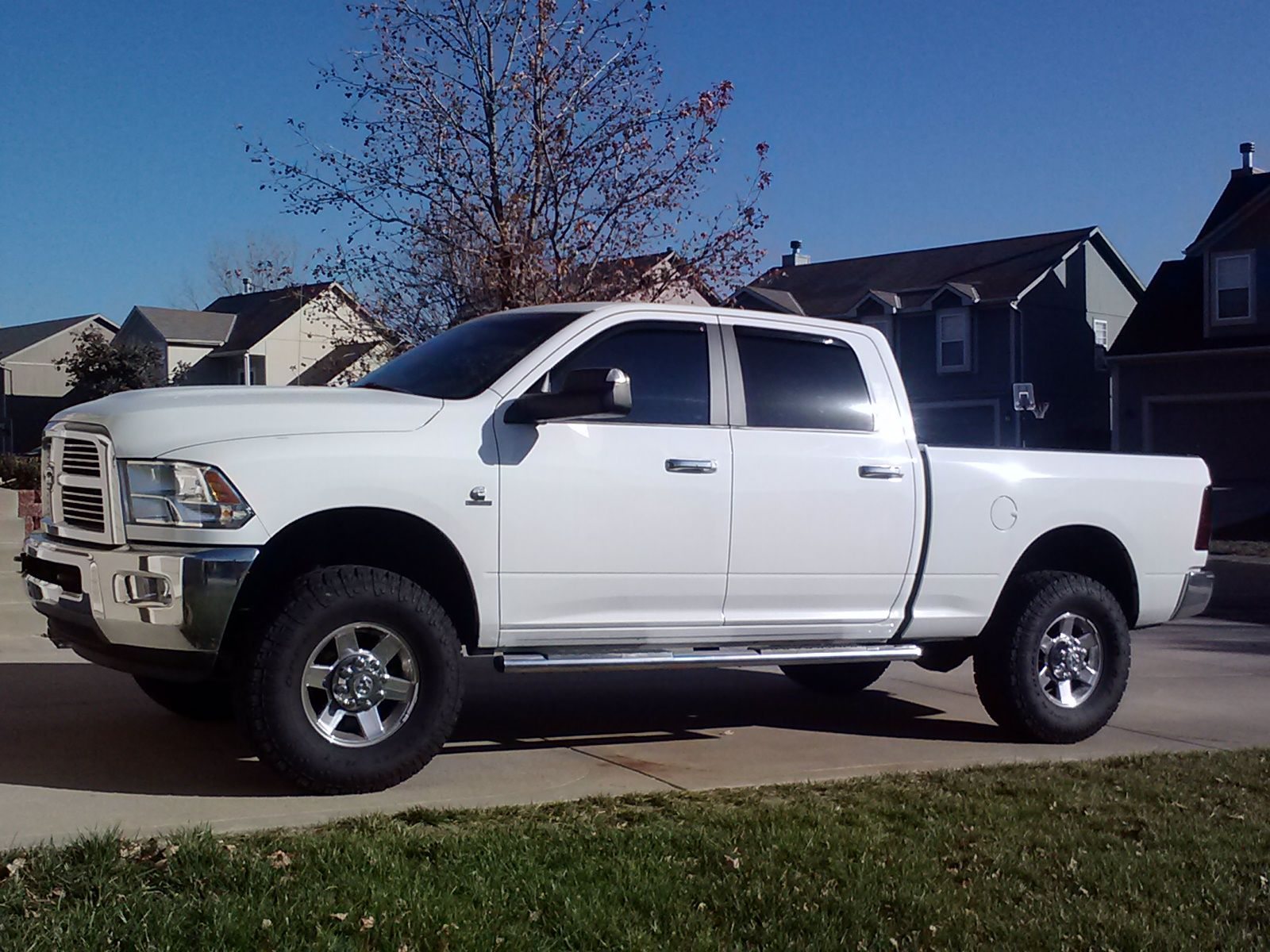 Fastest Diesel Truck >> Dodge Ram 2500 With 35s On Stock Wheels In Fastest Stock