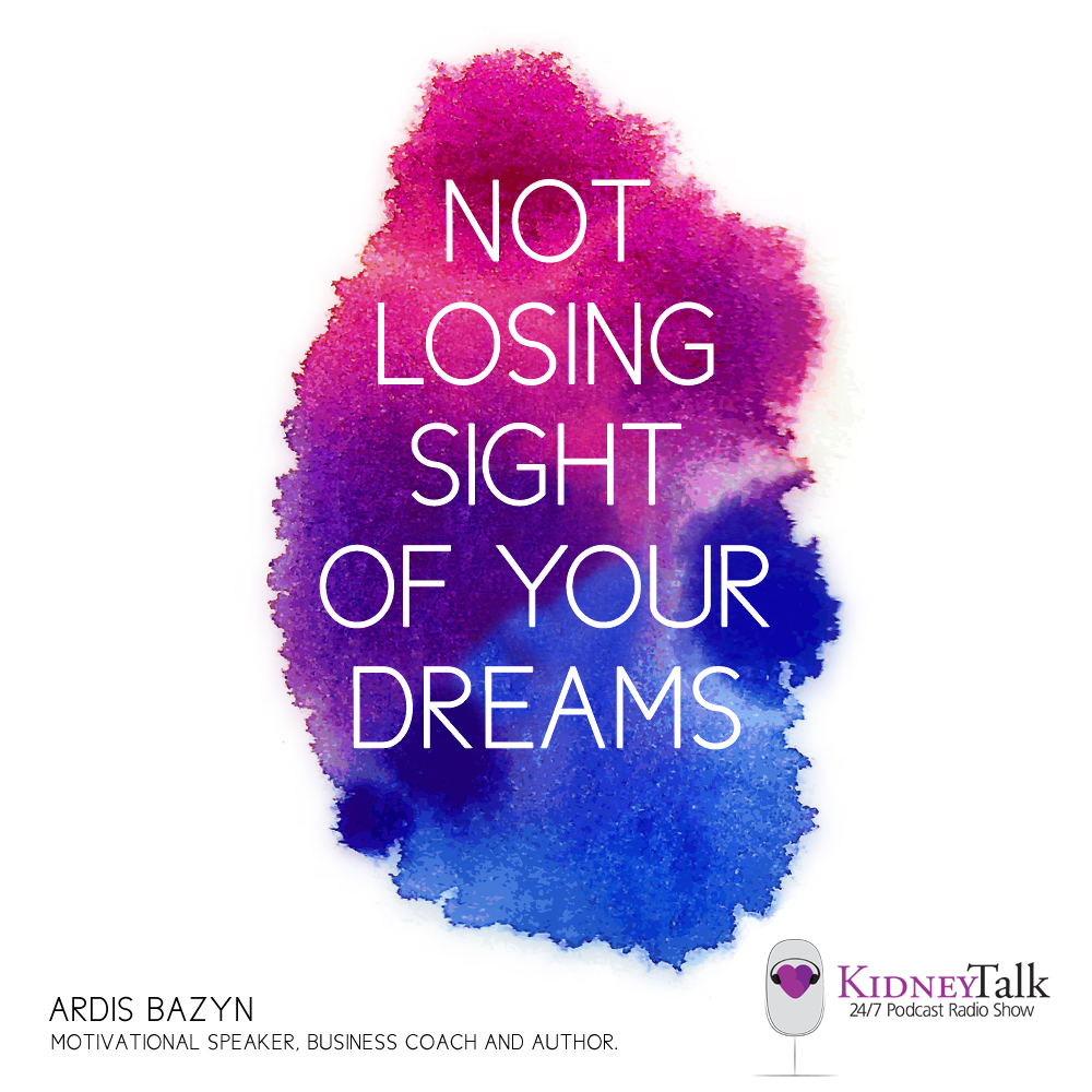 Ardis Bazyn is a motivational speaker, business coach and author. She lost her sight in a car accident at a young age. In this motivating interview, Ardis shares with Lori how she has overcome obstacles and has used technology, travel and coping strategies to fulfill her goals in life and live the life she wants to live. Make the impossible possible is her motto.
