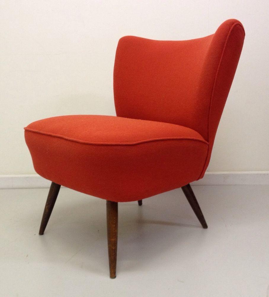 mid century vintage huggy chair retro antique 50s 60s 70s deco rh pinterest com