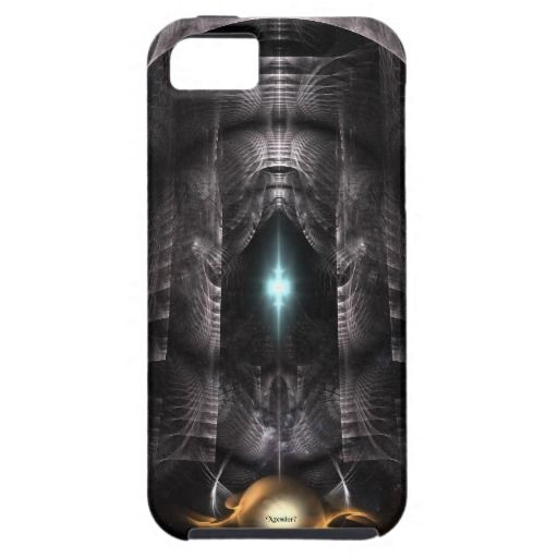 GalMech And The Moon Guardians Fractal Art iPhone 5 Cases $53.95
