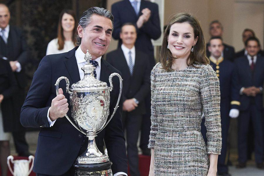 January 2017 Queen Letizia of Spain